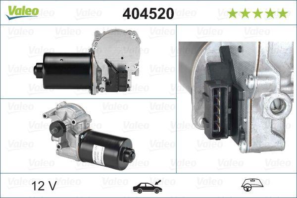Двигател на чистачките 404520 с добро VALEO съотношение цена-качество