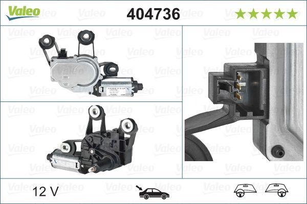 VALEO: Original Frontscheibenwischermotor 404736 ()