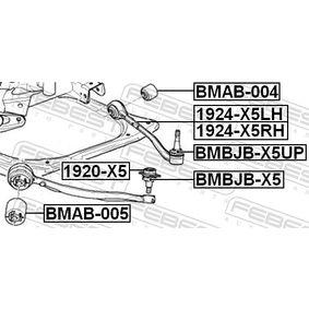 BMBJBX5UP Reparatursatz, Trag- / Führungsgelenk FEBEST BMBJB-X5UP - Große Auswahl - stark reduziert