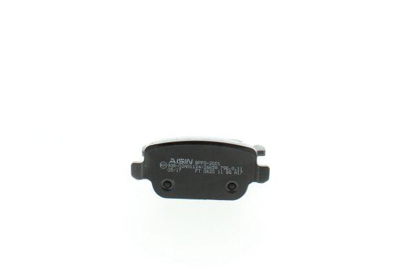 BPFO2001 Bremsbeläge AISIN 24537 - Große Auswahl - stark reduziert