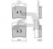 Bremsbelagsatz, Scheibenbremse BPMB-2003 — aktuelle Top OE A00 342 02 820 Ersatzteile-Angebote