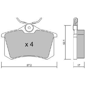 BPPE-2002 Bremsbelagsatz AISIN - Markenprodukte billig