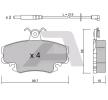 Bremsbelagsatz, Scheibenbremse BPRE-1004 — aktuelle Top OE 7701 202 516 Ersatzteile-Angebote