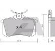 Bremsbelagsatz, Scheibenbremse BPRE-2001 — aktuelle Top OE 4254 C1 Ersatzteile-Angebote
