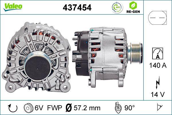 437454 Γεννήτρια VALEO Test