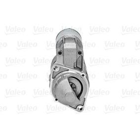 438027 Anlasser VALEO D7E8 - Große Auswahl - stark reduziert