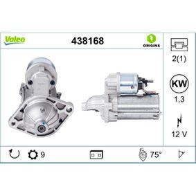 438168 Motorino d'avviamento VALEO qualità originale