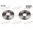 BS7382 FTE Bremsscheibe für RENAULT TRUCKS online bestellen
