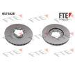 BS7382B FTE Bremsscheibe für RENAULT TRUCKS online bestellen