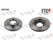 BS7383 FTE Bremsscheibe für RENAULT TRUCKS online bestellen