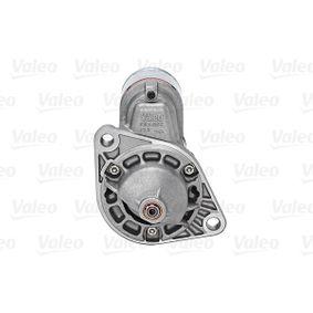 455736 Anlasser VALEO 187204 - Große Auswahl - stark reduziert