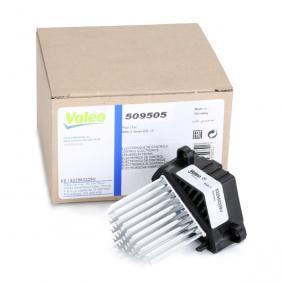 Bedienelement, Klimaanlage VALEO 509505 günstige Verschleißteile kaufen