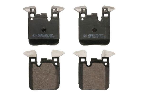 C2B030ABE ABE Hinterachse, für Verschleißwarnanzeiger vorbereitet Höhe: 65,8mm, Breite: 73,6mm, Dicke/Stärke: 17,8mm Bremsbelagsatz, Scheibenbremse C2B030ABE günstig kaufen