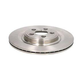 C4J001ABE ABE Hinterachse, belüftet, lackiert Ø: 326mm, Lochanzahl: 5, Bremsscheibendicke: 20mm Bremsscheibe C4J001ABE günstig kaufen