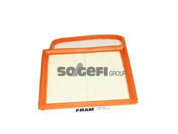 CA9668 FRAM Filtereinsatz Länge: 372mm, Länge: 372mm, Breite: 246mm, Höhe: 35mm Luftfilter CA9668 günstig kaufen