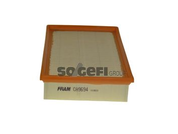 CA9694 FRAM Filtereinsatz Länge: 282mm, Länge: 282mm, Breite: 190mm, Höhe: 56mm Luftfilter CA9694 günstig kaufen