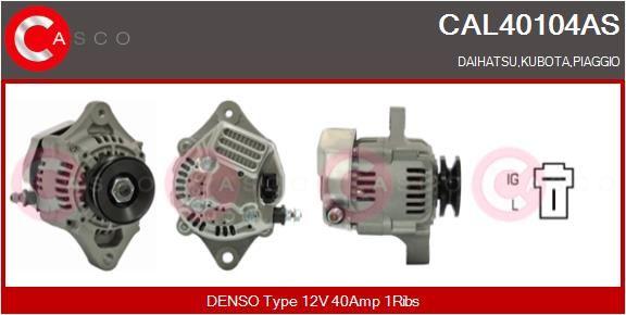 CASCO: Original Drehstromgenerator CAL40104AS (Rippenanzahl: 1)