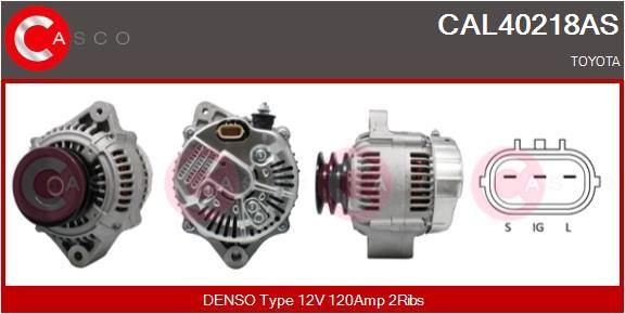CASCO Lichtmaschine CAL40218AS
