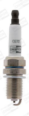 CET2 Bougies d'Allumage CHAMPION - Produits de marque bon marché