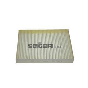 SIP1691 FRAM Pollenfilter Breite: 219mm, Höhe: 34mm, Länge: 278mm Filter, Innenraumluft CF9881 günstig kaufen