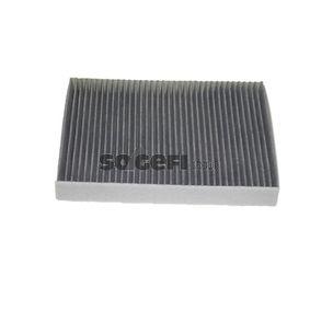 SIC1825 FRAM Aktivkohlefilter Breite: 196mm, Höhe: 32mm, Länge: 268mm Filter, Innenraumluft CFA10529 günstig kaufen