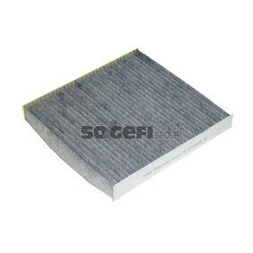 SIC3759 FRAM Aktivkohlefilter Breite: 253mm, Höhe: 29mm, Länge: 233mm Filter, Innenraumluft CFA11643 günstig kaufen
