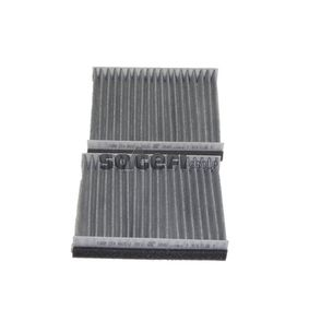 SIC1832 FRAM Charcoal Filter Width: 138mm, Height: 30mm, Length: 175mm Filter, interior air CFA9405-2 cheap
