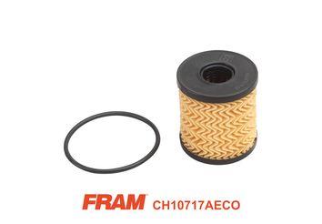 CH10717AECO FRAM Filtereinsatz Innendurchmesser: 24mm, Ø: 65mm, Höhe: 69mm Ölfilter CH10717AECO günstig kaufen