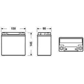 CK131 Starterbatterie CENTRA - Markenprodukte billig