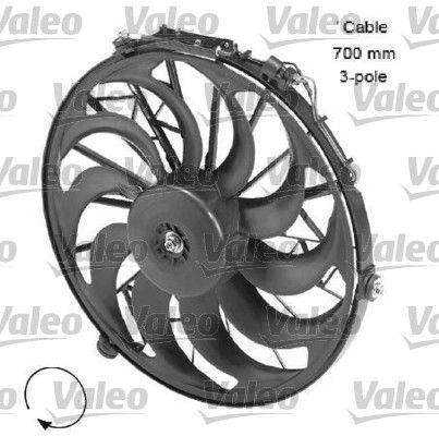 696058 VALEO Ø: 415mm Kühlerlüfter 696058 günstig kaufen