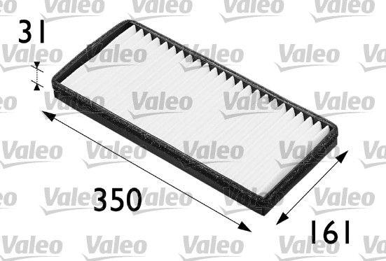 Купете FA201 VALEO CLIMFILTER COMFORT филтър за груби частици ширина: 160мм, височина: 30мм, дължина: 355мм Филтър, въздух за вътрешно пространство 698201 евтино