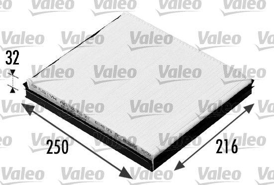 Innenraumluftfilter VALEO 698685