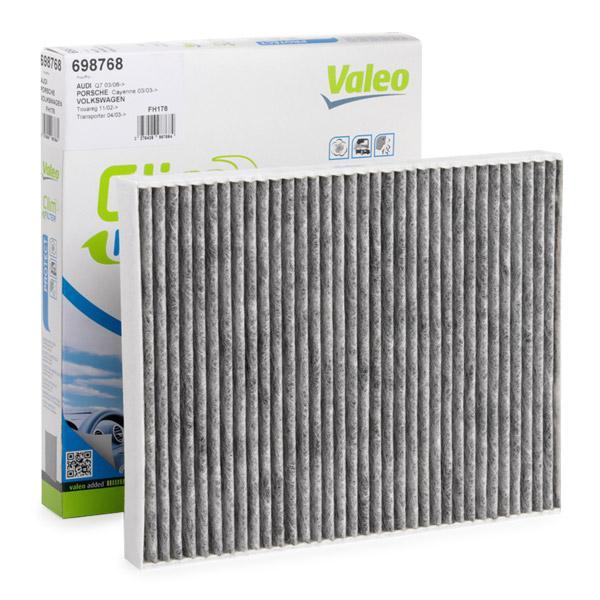 698768 VALEO CLIMFILTER PROTECT Aktivkohlefilter Breite: 219mm, Höhe: 30mm, Länge: 278mm Filter, Innenraumluft 698768 günstig kaufen