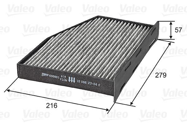 Kabinenluftfilter VALEO 698801
