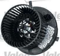 VW CADDY 2008 replacement parts: Interior Blower VALEO 698812 at a discount — buy now!