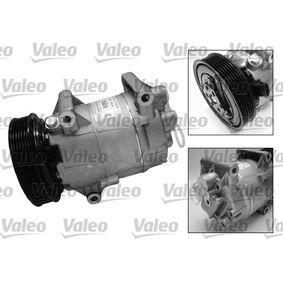 699246 Kompressor, Klimaanlage VALEO 699246 - Große Auswahl - stark reduziert