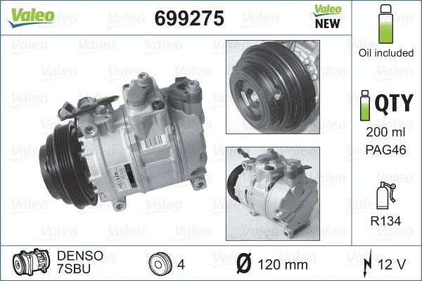 Klimakompressor VALEO 699275