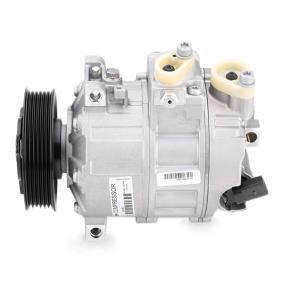 DCS17E VALEO NEW ORIGINAL PART PAG 46, Frigor.: R 134 a, con aceite de compresor PAG Polea Ø: 110mm Compresor, aire acondicionado 699357 a buen precio