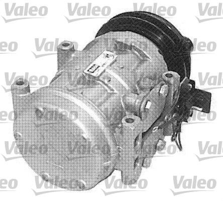 699688 VALEO REMANUFACTURED PAG 46, Kältemittel: R 134a, ohne PAG-Kompressoröl Riemenscheiben-Ø: 132mm, Anzahl der Rillen: 1 Klimakompressor 699688 günstig kaufen