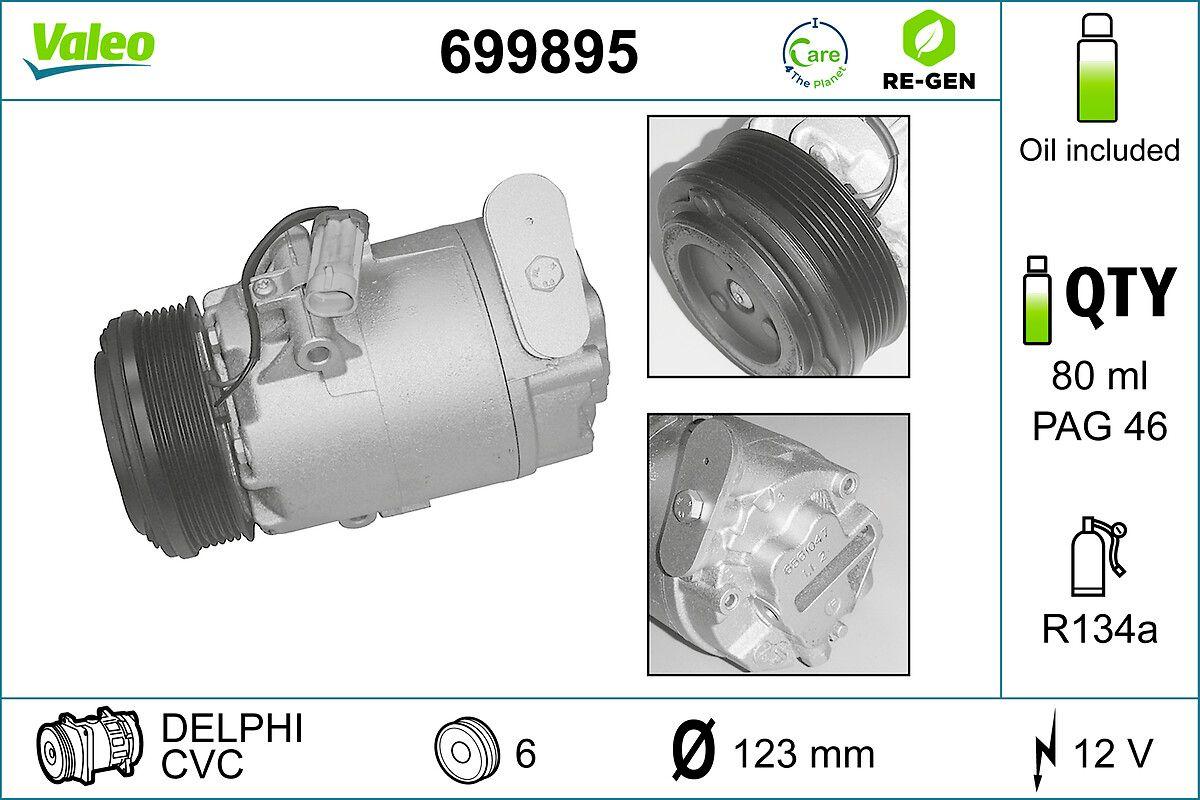 Klimakompressor VALEO 699895