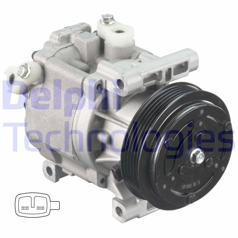 Original LANCIA Klimakompressor CS20403