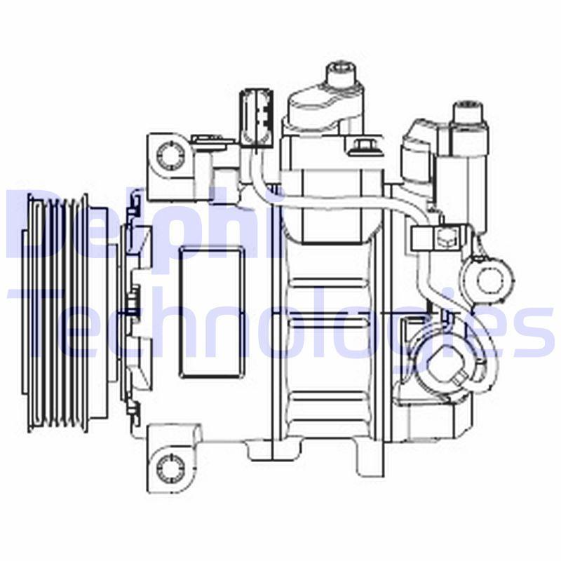 Kompressor DELPHI CS20474