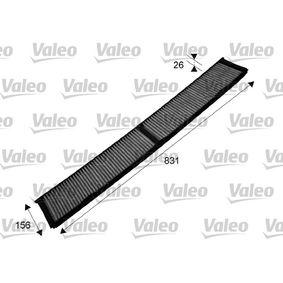 715503 Filter, Innenraumluft VALEO in Original Qualität