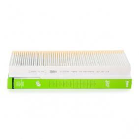 Filtro, aire habitáculo 715506 MERCEDES-BENZ CLASE B a un precio bajo, ¡comprar ahora!