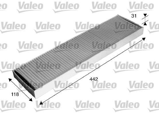 VALEO: Original Kabinenluftfilter 715585 (Breite: 118mm, Höhe: 31mm, Länge: 442mm)
