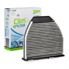 Filtro, aire habitáculo 715600 MERCEDES-BENZ CLS a un precio bajo, ¡comprar ahora!