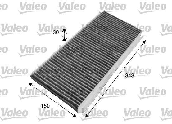 Купете 715617 VALEO CLIMFILTER PROTECT филтър с активен въглен ширина: 150мм, височина: 30мм, дължина: 343мм Филтър, въздух за вътрешно пространство 715617 евтино