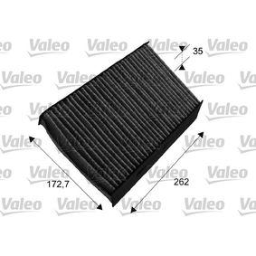 715647 Filter, Innenraumluft VALEO in Original Qualität