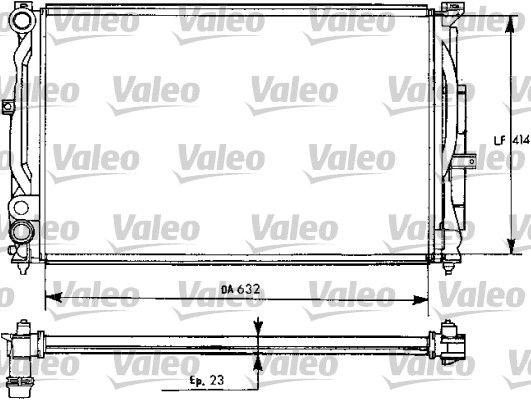 AUDI A4 2018 Kühler Motorkühlung - Original VALEO 731537