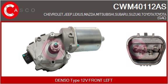 MAZDA MPV Wischermotor - Original CASCO CWM40112AS